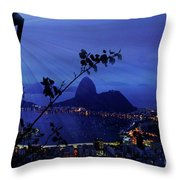 Rio 3 Throw Pillow