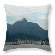 Rio De Janeiro I Throw Pillow
