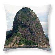 Rio De Janeiro IIi Throw Pillow