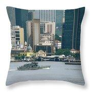 Rio De Janeiro V Throw Pillow