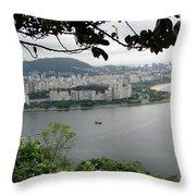 Rio De Janeiro Vii Throw Pillow