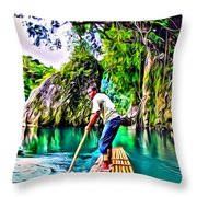 Rio Grande Throw Pillow