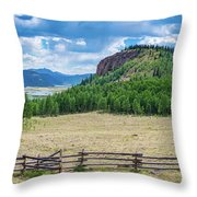 Rio Grande Headwaters #2 Throw Pillow