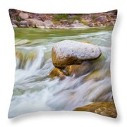 Rio Grande Rocky Flow Throw Pillow