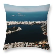Rio In Contrast Throw Pillow