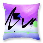 Riocentric Throw Pillow