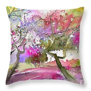 Rioja Spain 02 Throw Pillow