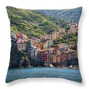 Riomaggiore 0577 Throw Pillow