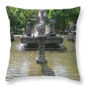 Riopelle Square 1 Throw Pillow
