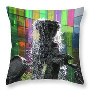 Riopelle Square 2 Throw Pillow