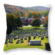 Rip Fall Colors Throw Pillow