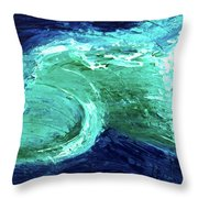 Rip Tide Throw Pillow