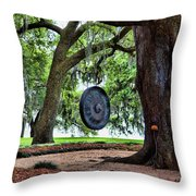 Rip Van Winkle Gardens I  Throw Pillow