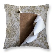Ripped Throw Pillow
