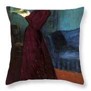 Ripple-ronai: Woman, 1892 Throw Pillow
