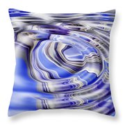 Ripples And Reflections Throw Pillow