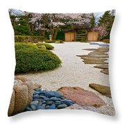 Ripples And Serenity Throw Pillow