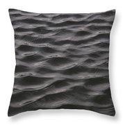 Ripples And Waves From Wind Dance Throw Pillow