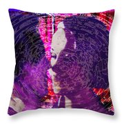 Ripples Of Circumstance Throw Pillow