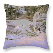 Ripples Subdued Throw Pillow