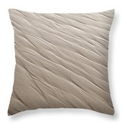 Rippling Throw Pillow by Marilyn Hunt