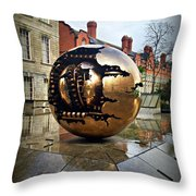 Rips And Gears Throw Pillow