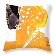Riquetta - Food And Drink - Vintage Advertising Poster Throw Pillow