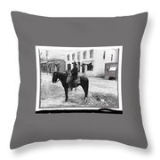 Risdon Photography Studio #1 Clifton Arizona C.1909-2009 Throw Pillow