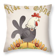 Rise And Shine-jp2836 Throw Pillow