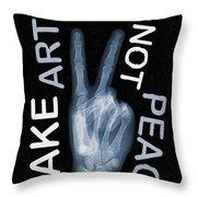 Rise Peace Throw Pillow