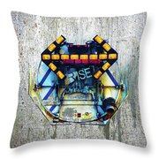 Rise The Obstacle Is The Road Throw Pillow