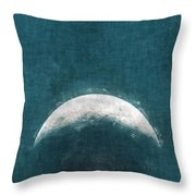 Rise Up Moon Throw Pillow