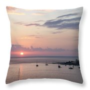 Risenshine Throw Pillow
