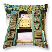 Rising Above Jesus Saves Throw Pillow