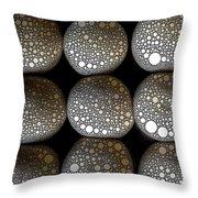 Rising Buns Throw Pillow