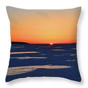 Rising On The Horizon  Throw Pillow