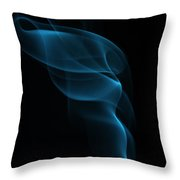 Rising Smoke Throw Pillow