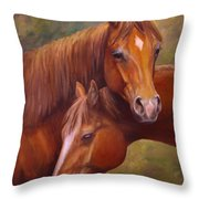 Rising Stars Throw Pillow