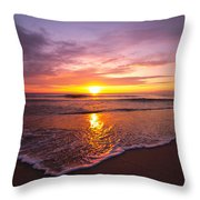 Rising Sun  Throw Pillow