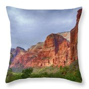 Rising Up Throw Pillow