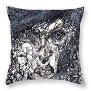 Rita Dambook Throw Pillow