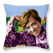 Rita Pavone Collection - 1 Throw Pillow