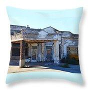 Ritzville Ruins Throw Pillow