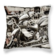 Rivals Throw Pillow