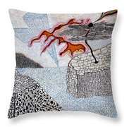 River And Water Throw Pillow