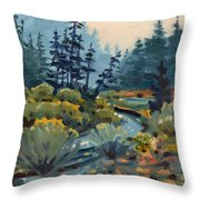 River Bend Throw Pillow