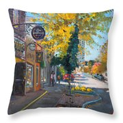 River Coyote Gallery Mississauga Throw Pillow