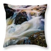 River Dance Throw Pillow