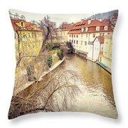 River Ends Throw Pillow