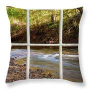 River Falls Throw Pillow